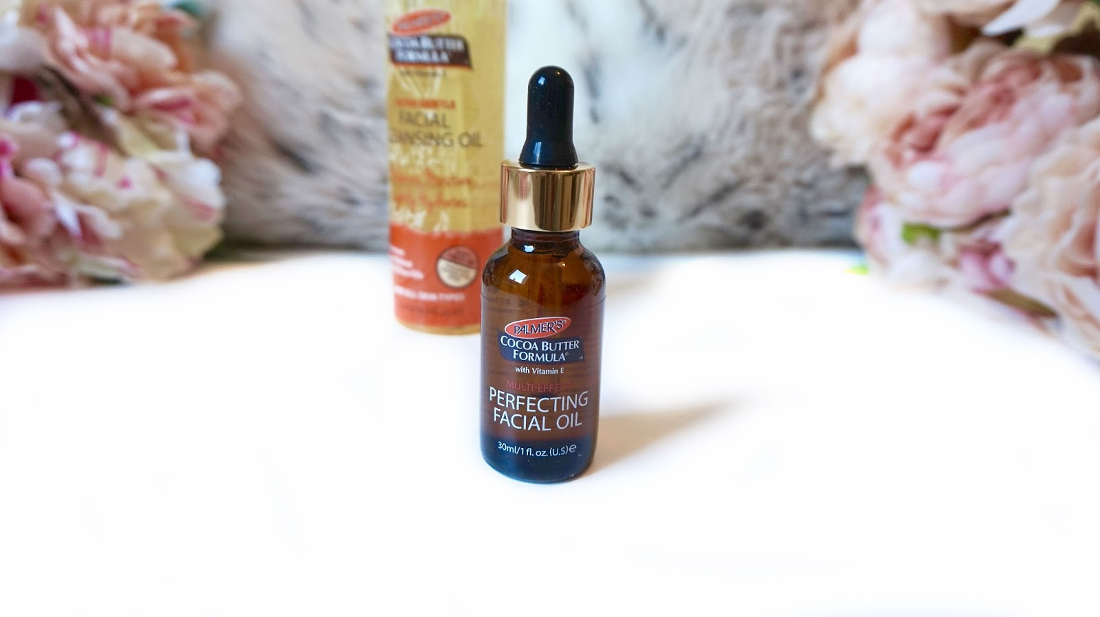 Palmers facial cleanser and oil
