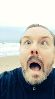 Ricky Gervais Funny Face