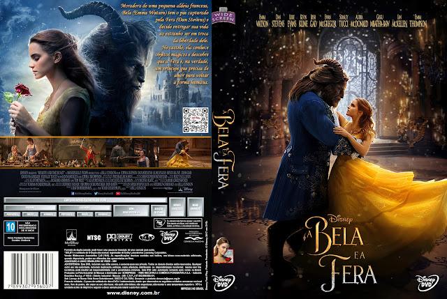 Capa DVD A Bela e a Fera [Exclusiva]