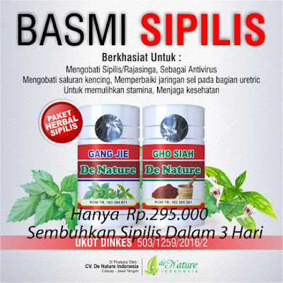 Obat Sipilis Ampuh Alami Tanpa Efek Samping