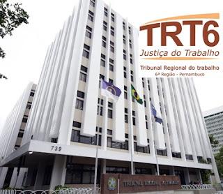 Concurso TRT 6ª Região PE 2018