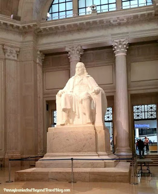 Ben Franklin Memorial at The Franklin Institute
