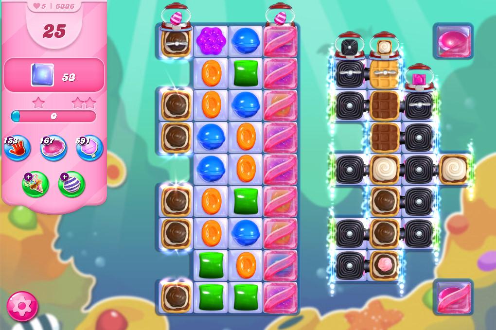 Candy Crush Saga level 6336
