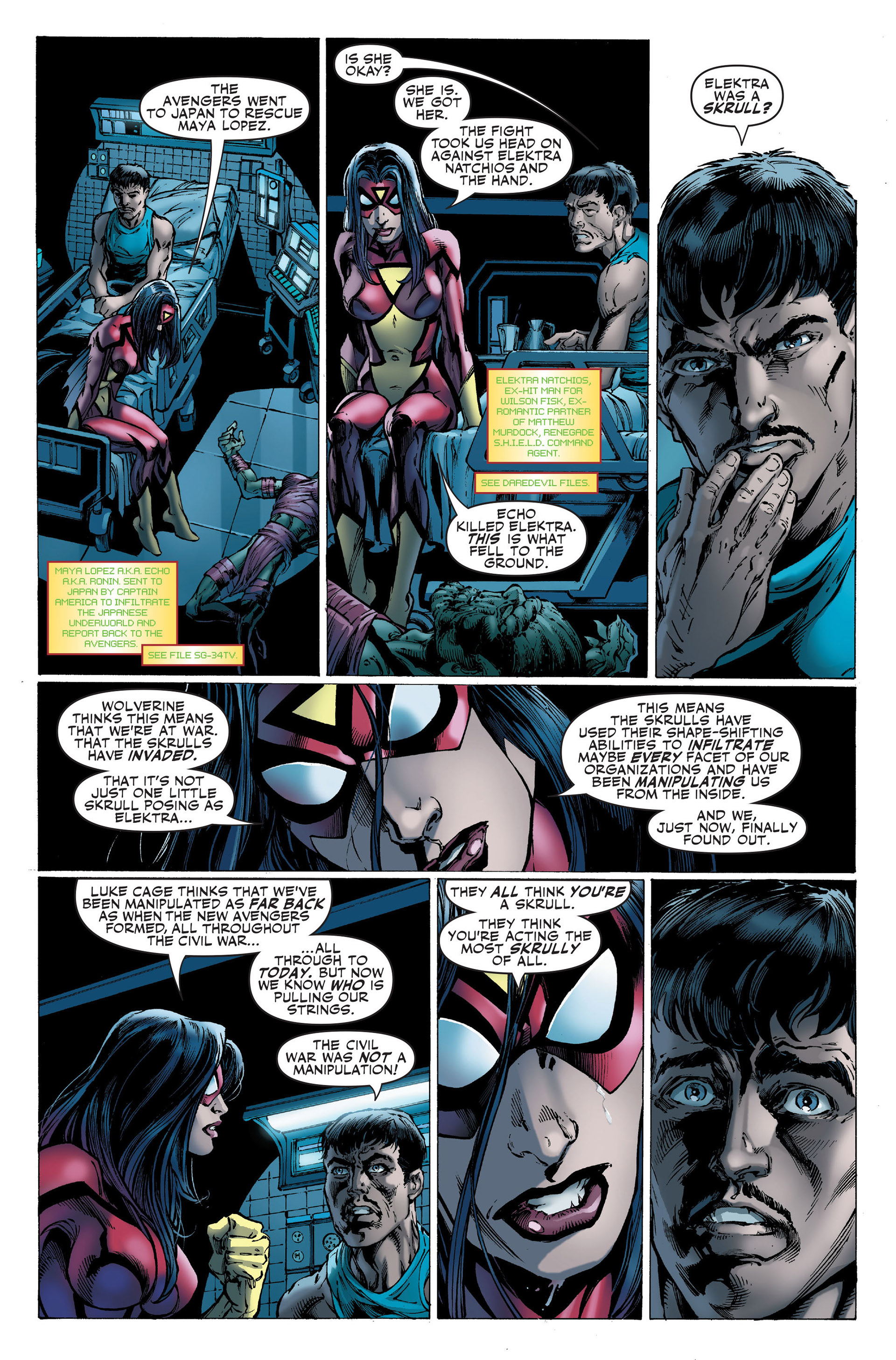 Read online Secret Invasion: The Infiltration comic -  Issue #1 - 5