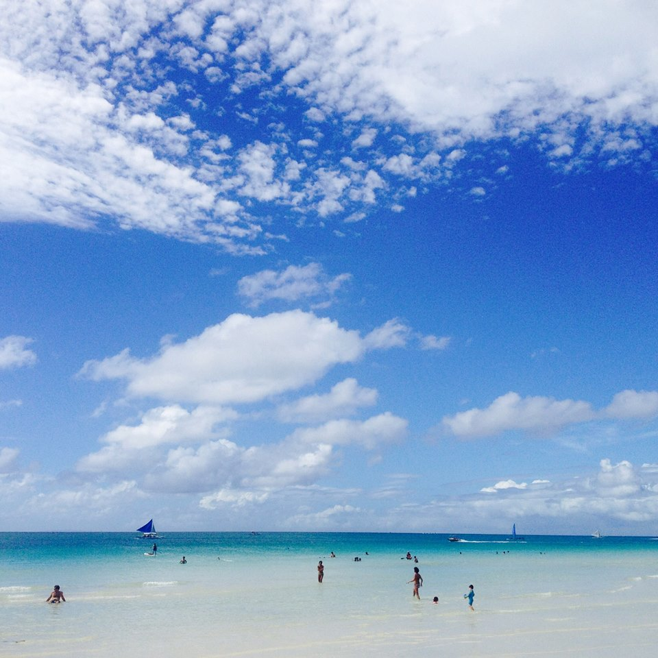 Boracay Beach: BORACAY, FILIPINY: Rajska Wysepka