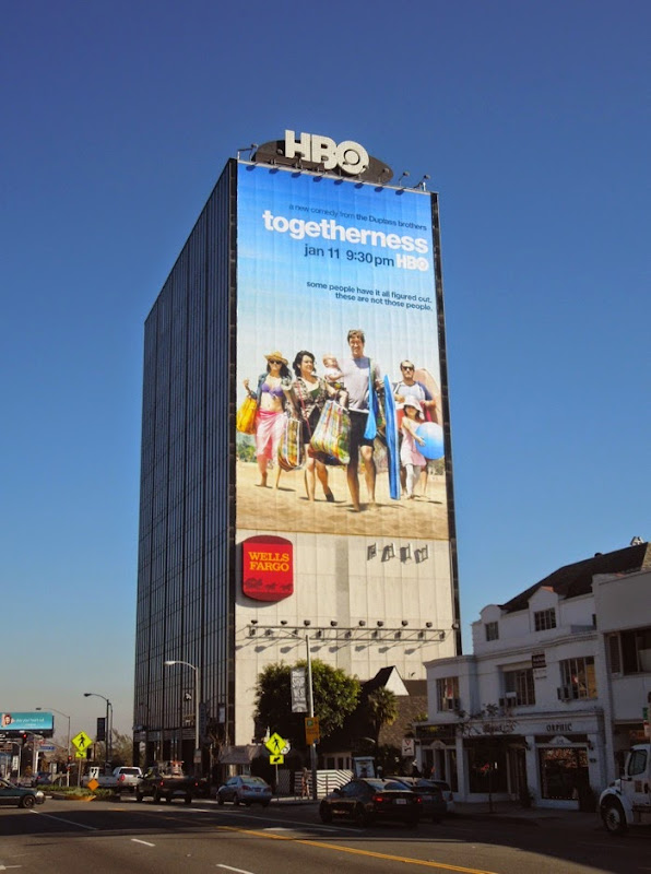 Giant Togetherness series premiere billboard