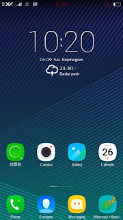 Custom Rom EternityOS vibeUI for Lenovo A516