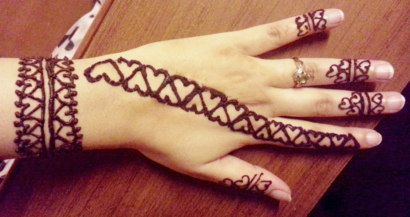 Easy Mehndi Designs For Beginners Kids Dulhan Women Girl 2016 New
