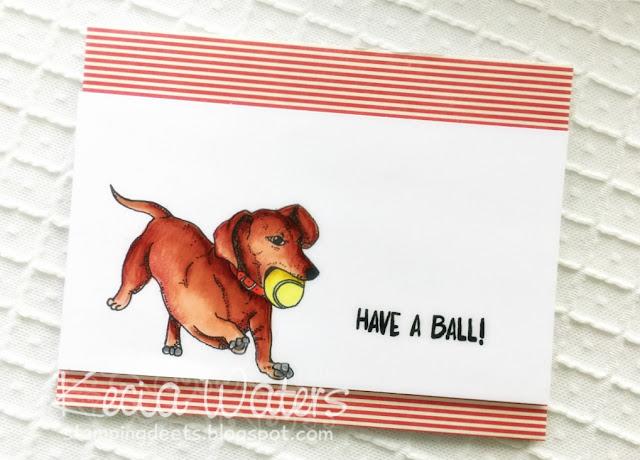 Jessica Lynn Originals, Kecia Waters, dachshund, Copic markers