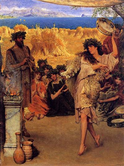 Le feste i for Cibi romani