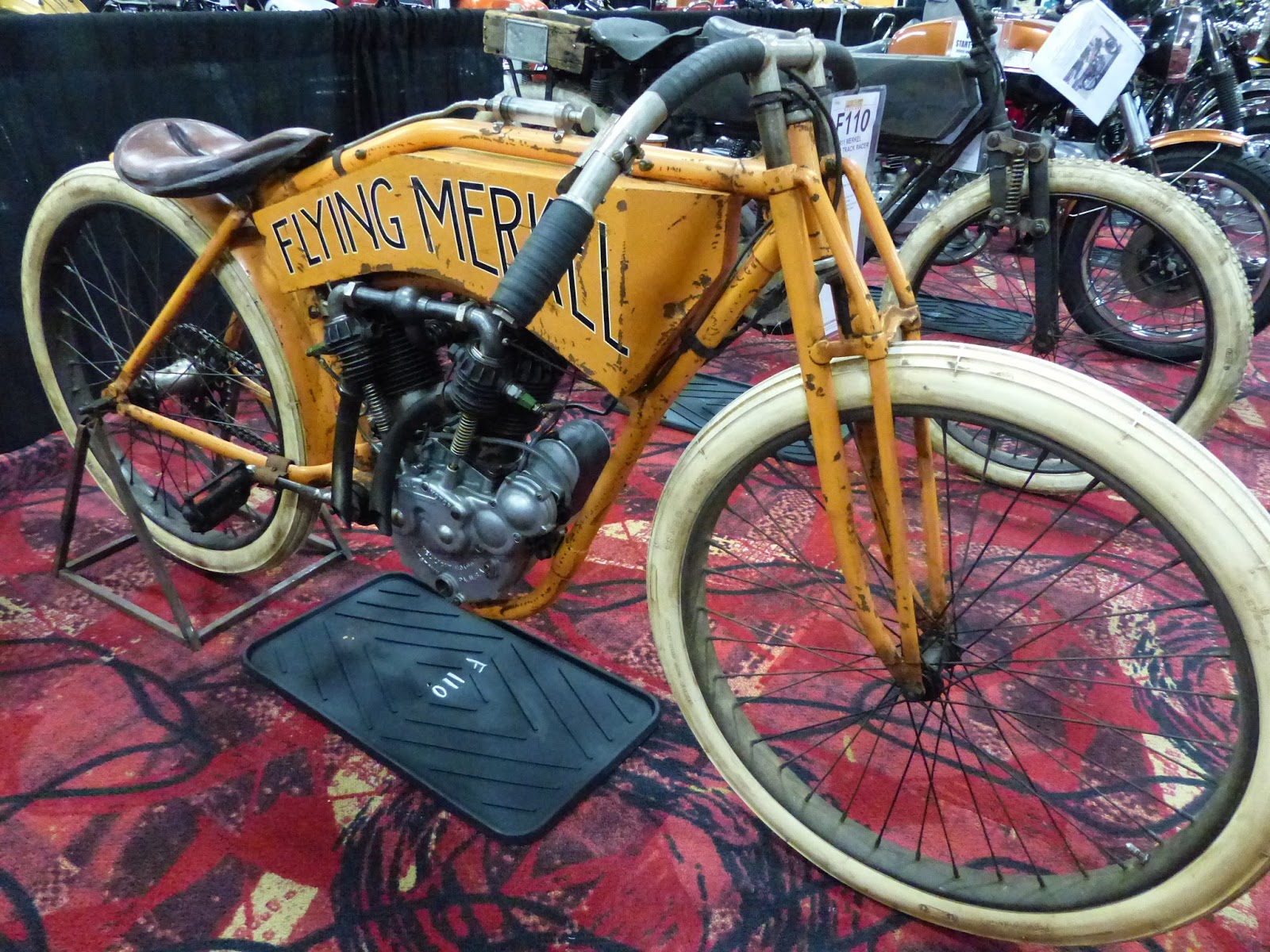 1911 Flying Merkel Board Track Racer for sale at the 2016 Mecum Las Vegas  Motorcycle Auction 6f7f6c238