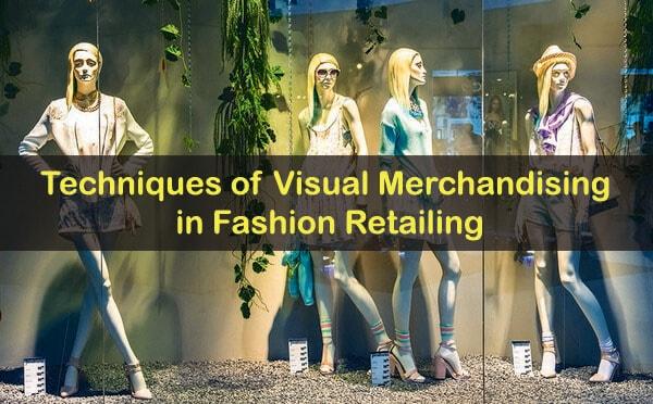 Visual merchandising techniques essay