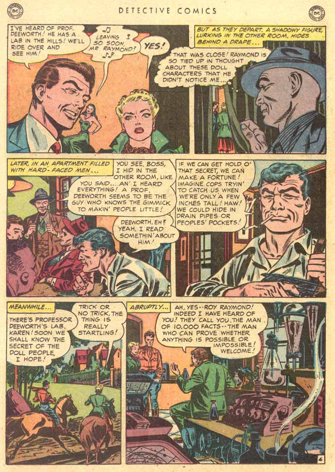 Read online Detective Comics (1937) comic -  Issue #159 - 20