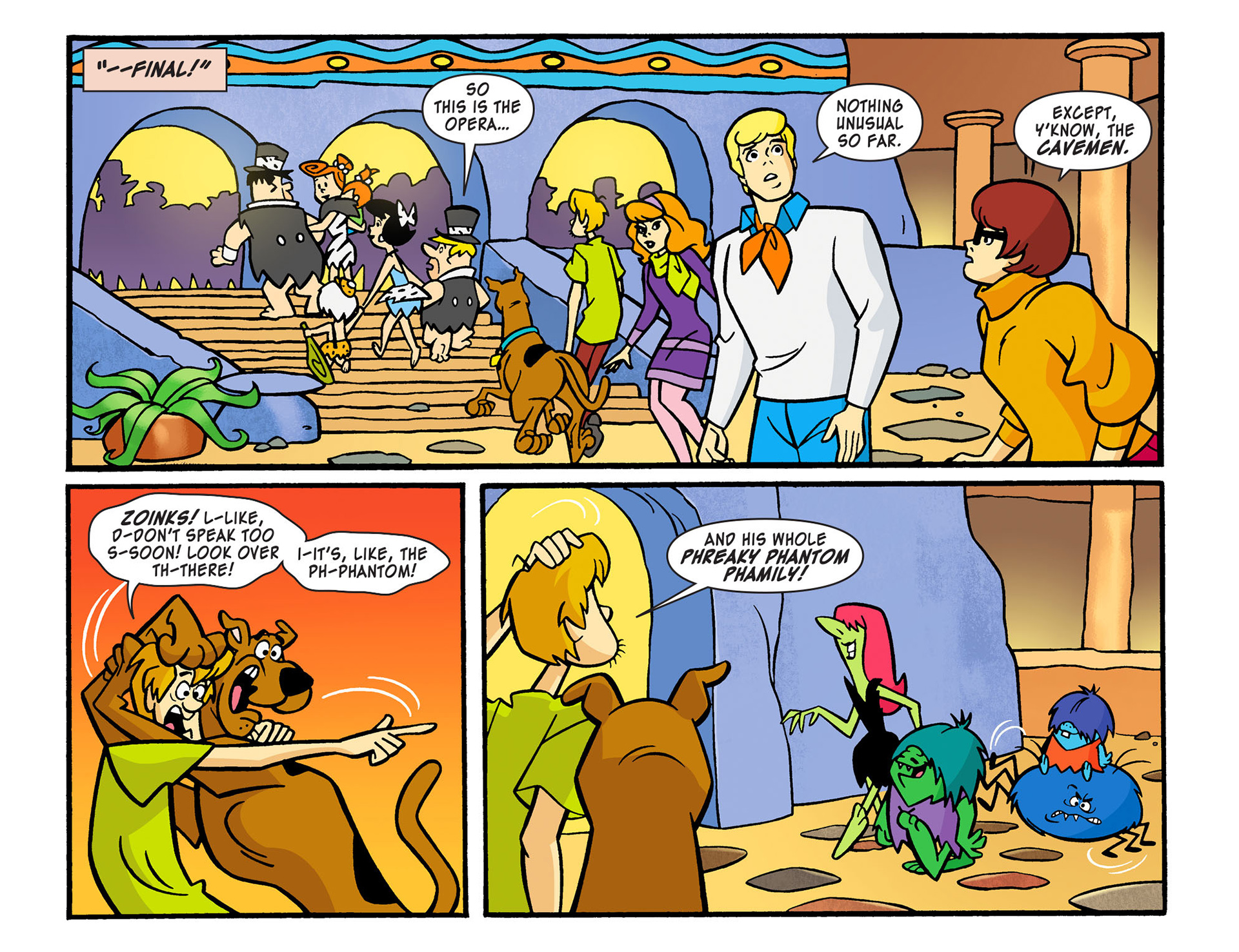 Read online Scooby-Doo! Team-Up comic -  Issue #13 - 15