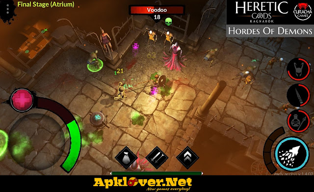 HERETIC GODS: Ragnarök APK MOD Unlimited money & premium