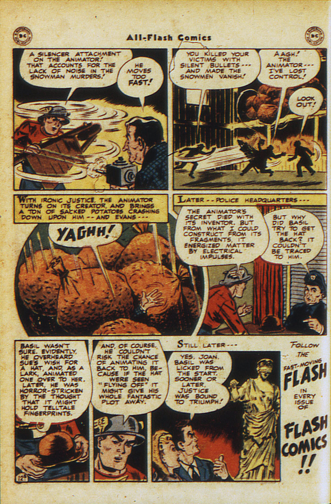 Read online All-Flash comic -  Issue #30 - 28