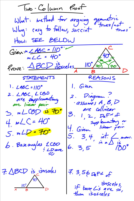 Grade 11 Applied Aardvark Math Two Column Geometric