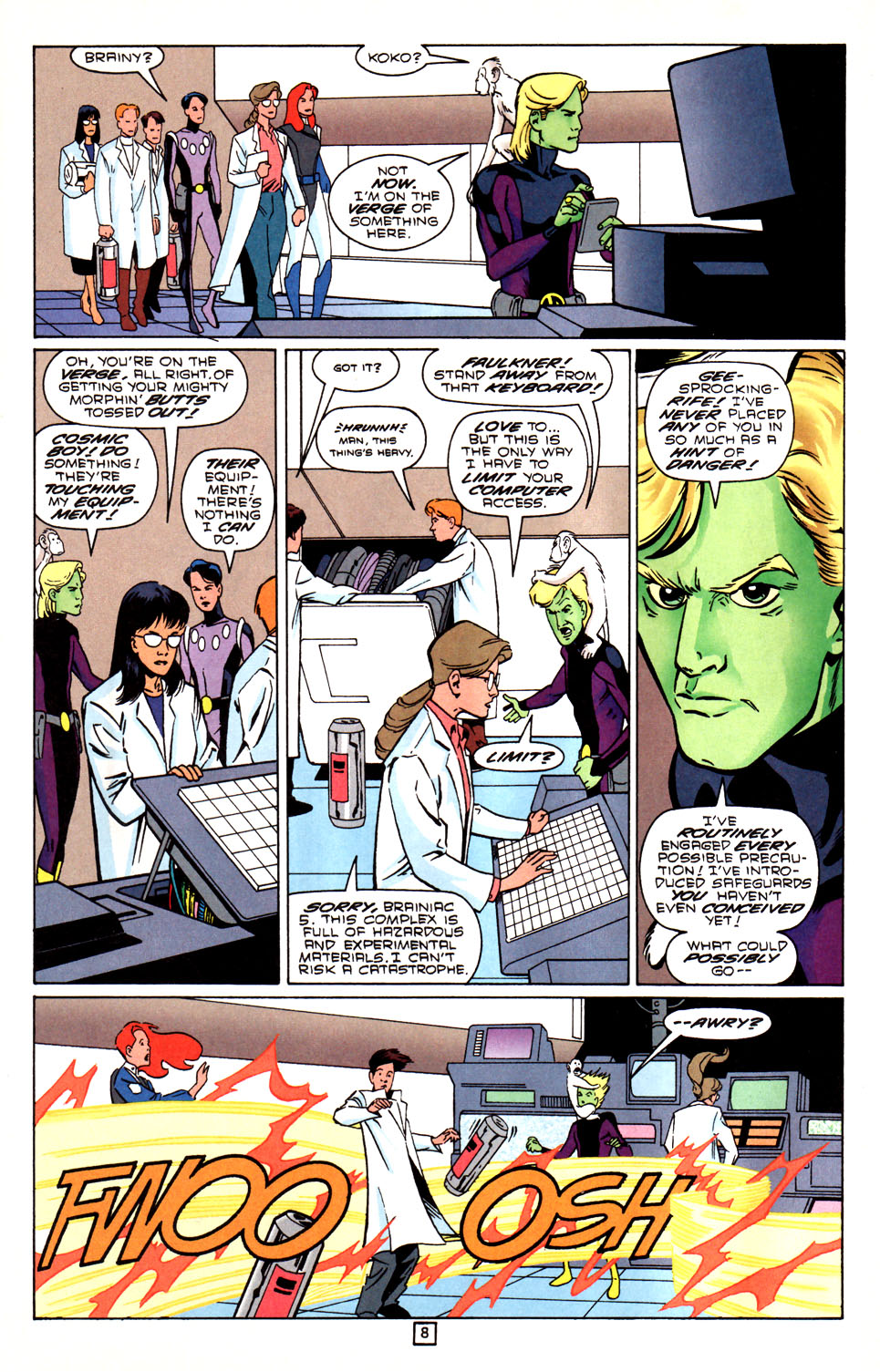 Legion of Super-Heroes (1989) 88 Page 8