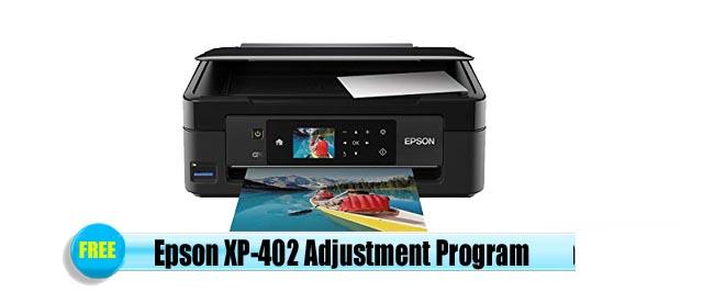 Epson  XP-402 Adjustment Program