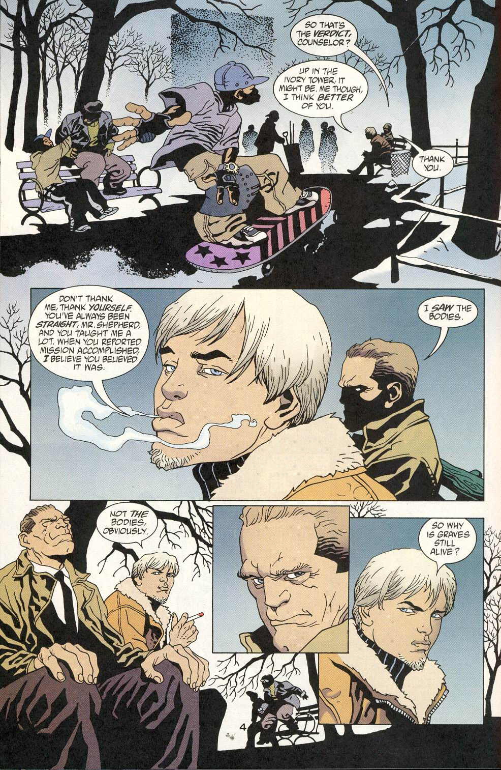 Read online 100 Bullets comic -  Issue #20 - 6
