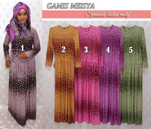 Baju Gamis Muslimah Modern Cantik Bagus Dan Murah