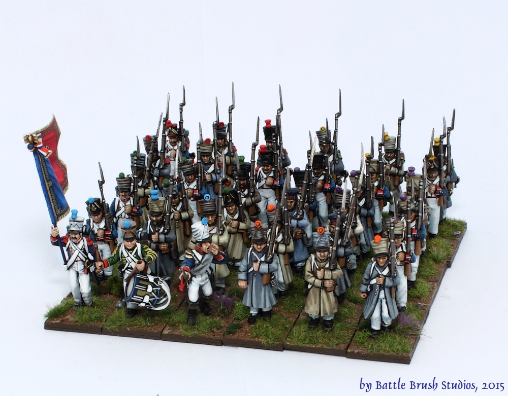 Battle Brush Studios: Review: Late Napoleonic Line Infantry