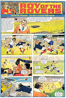 Scotland vs England - Roy of the Rovers