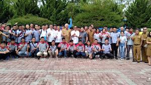 Bupati Tobasa Berangkatkan Calon Pekerja Migran Indonesia untuk Korea ke Jakarta