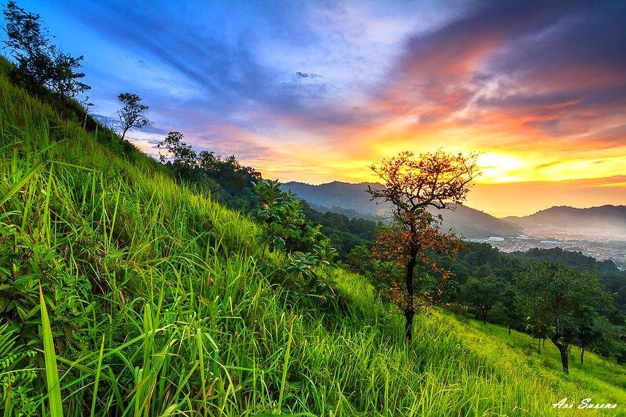 bukit nobita kawasan fenomenal di kota padang