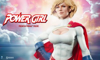 Power Girl della Sideshow