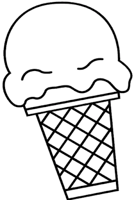 Gambar Mewarnai Ice Cream - 7