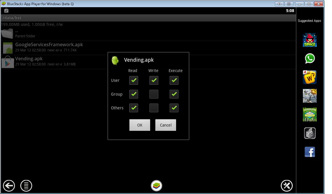 Internet Zone Bluestacks App Player
