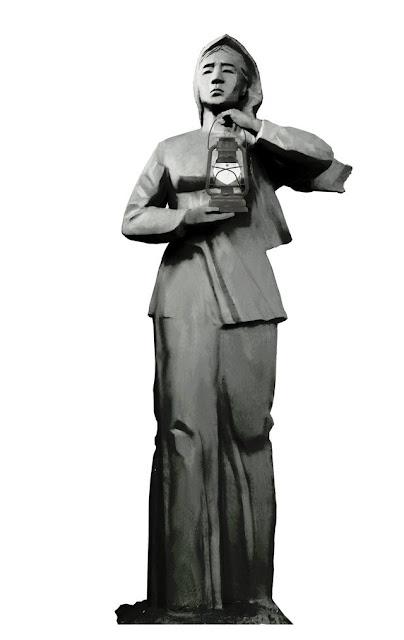 Mẫu tượng Người mẹ thắp lửa đoạt giải (mẫu 3D)