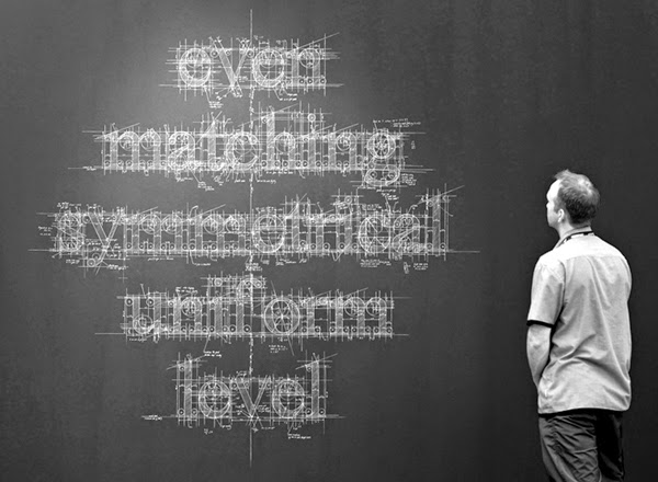 Liz Collini hand-lettered chalk typography