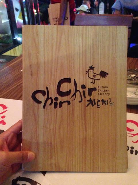 Buku Menu Resto Ayam Korea