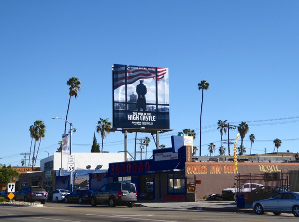 Man in the High Castle billboard