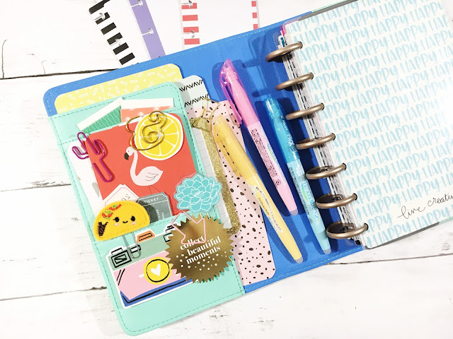 Mini Happy Planner Set up