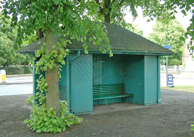 The Tintab shelter on East Park, Brigg - picture on Nigel Fisher's Brigg Blog