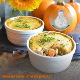 Healthy Toddler Snacks : Mashed Pumpkin