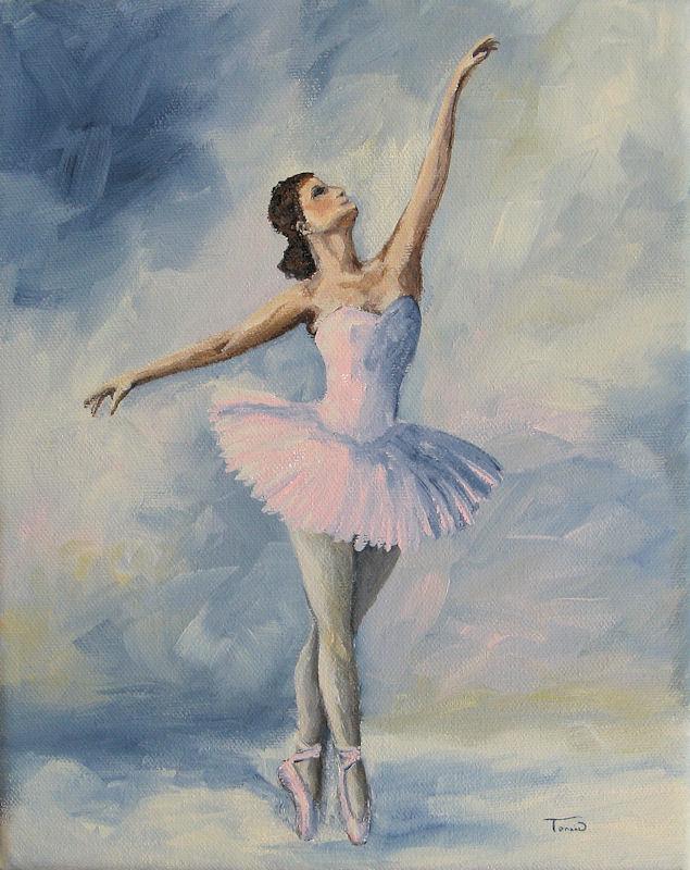 Torrie Smiley, Original Works of Art: Ballerina 001