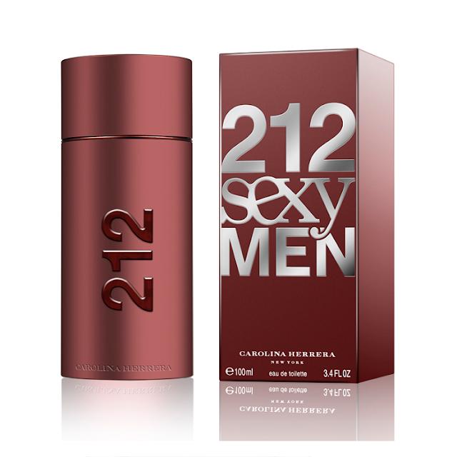 Parfum Pria 212 Sexy Men Carolina Herrera