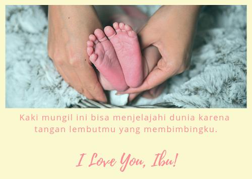 kartu ucapan untuk ibu