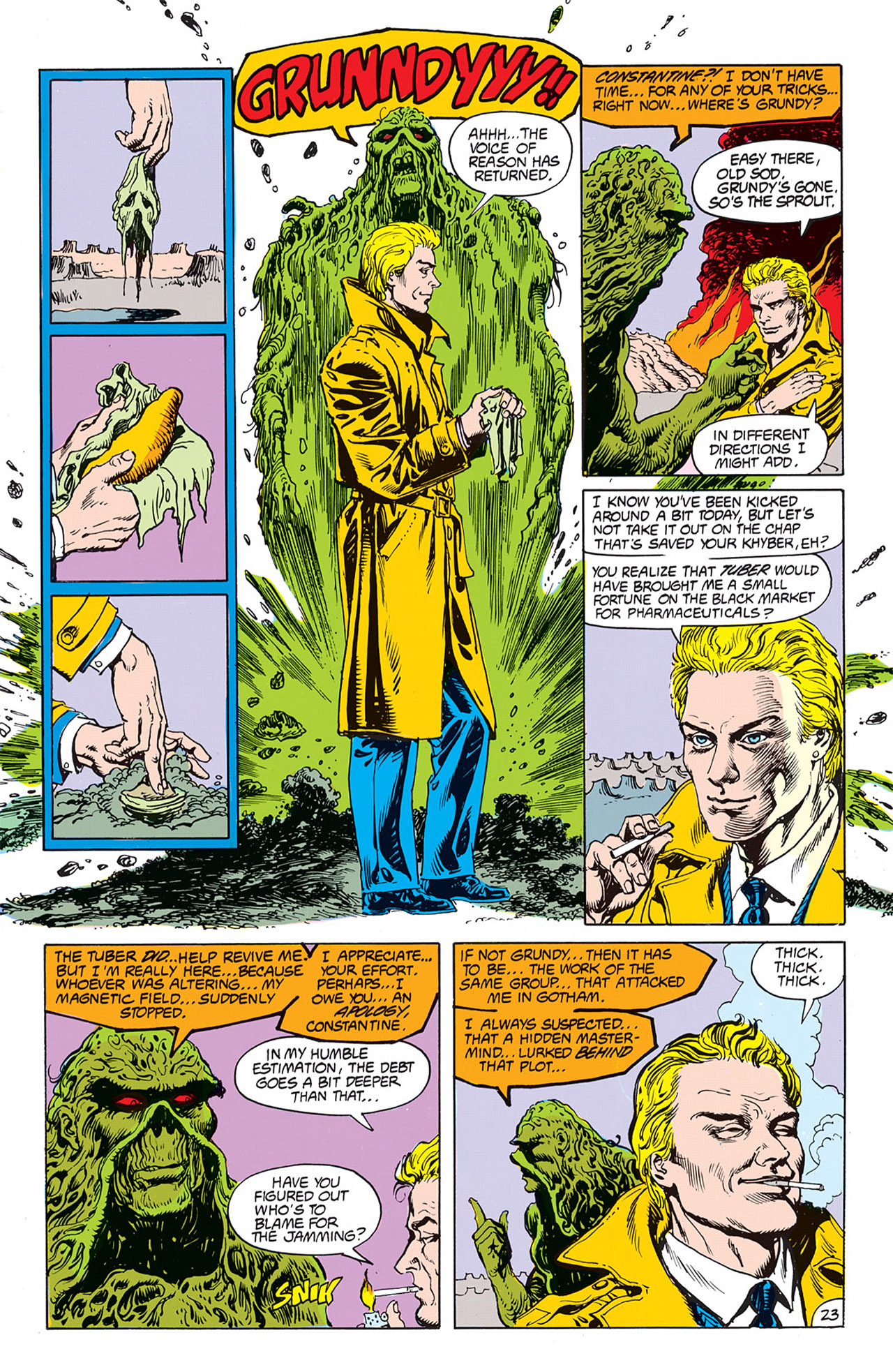 Swamp Thing (1982) Issue #67 #75 - English 25