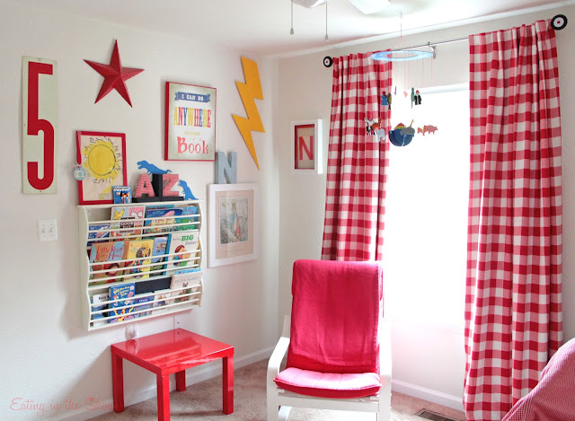 Kids Room Gallery Wall in Base Housing