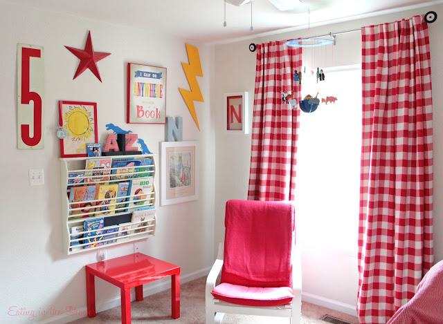Kids Room Gallery Wall in Base Housing