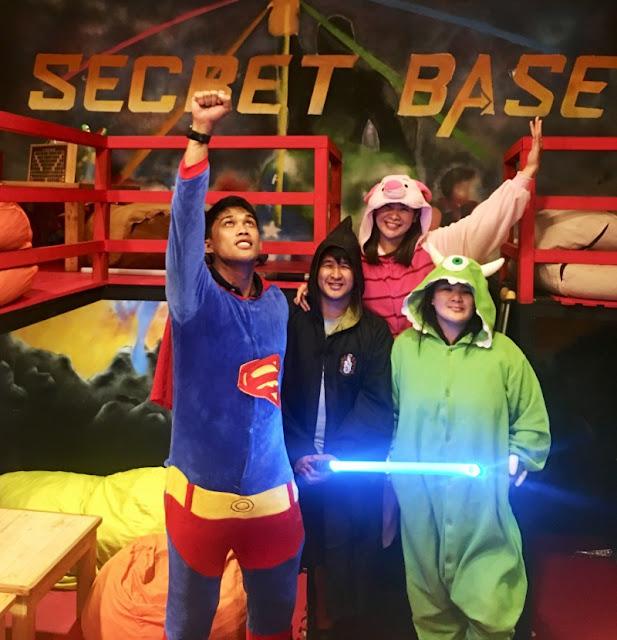 Secret Base Gaming Lounge and Board Game Cafe Marikina - Cosplay Fun at Secret Base in Marikina City