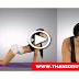 Indian film famous actress Poonam pandey yoga video
