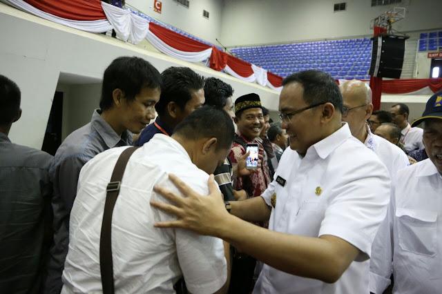 30 Warga Muba Dapat Sertifikat Tanah Dari Presiden