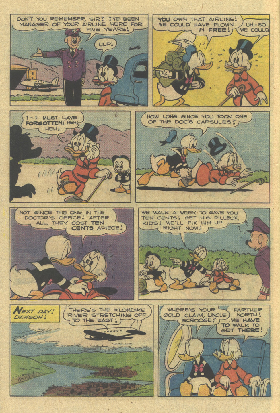 Read online Uncle Scrooge (1953) comic -  Issue #142 - 12