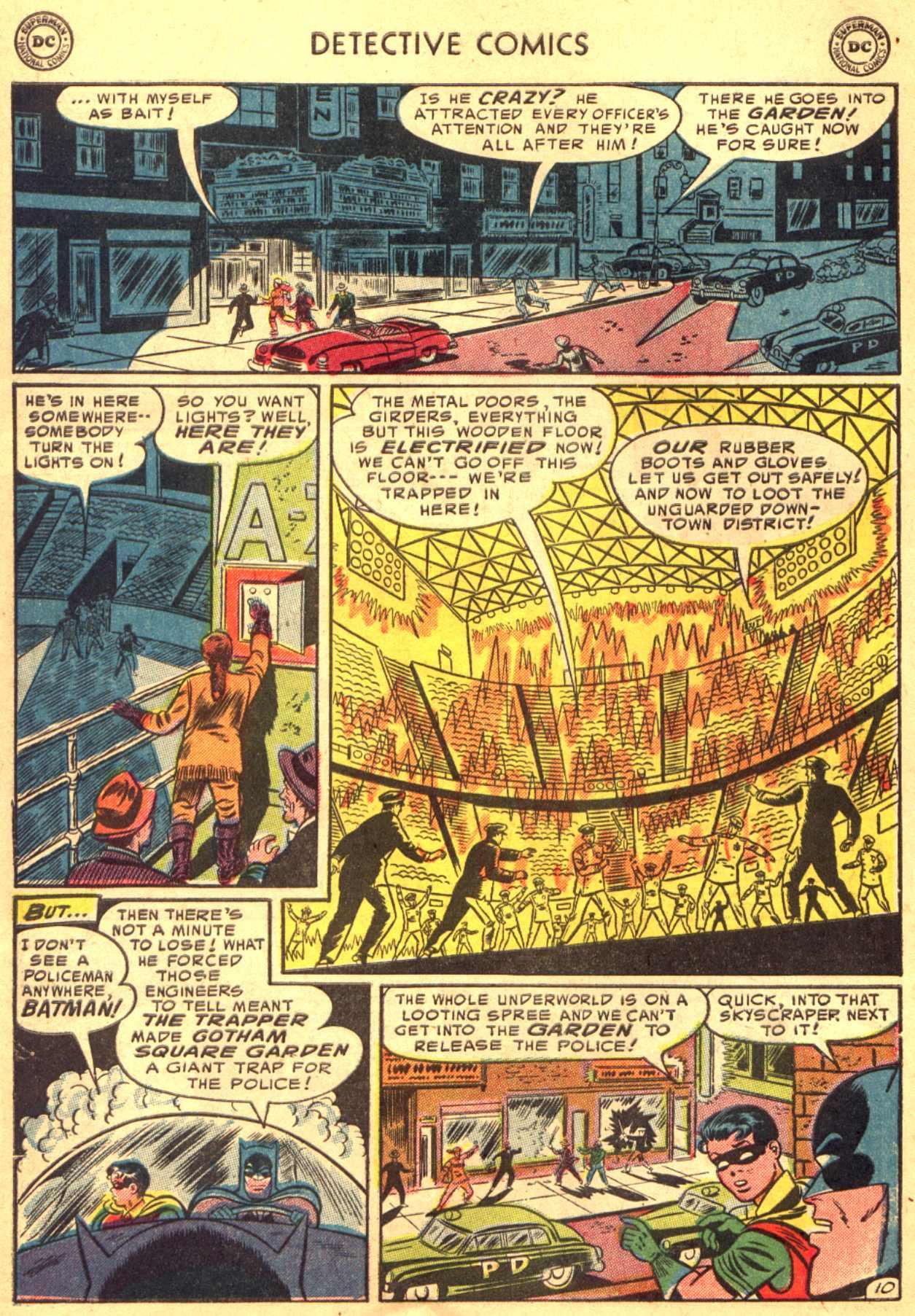 Read online Detective Comics (1937) comic -  Issue #206 - 10